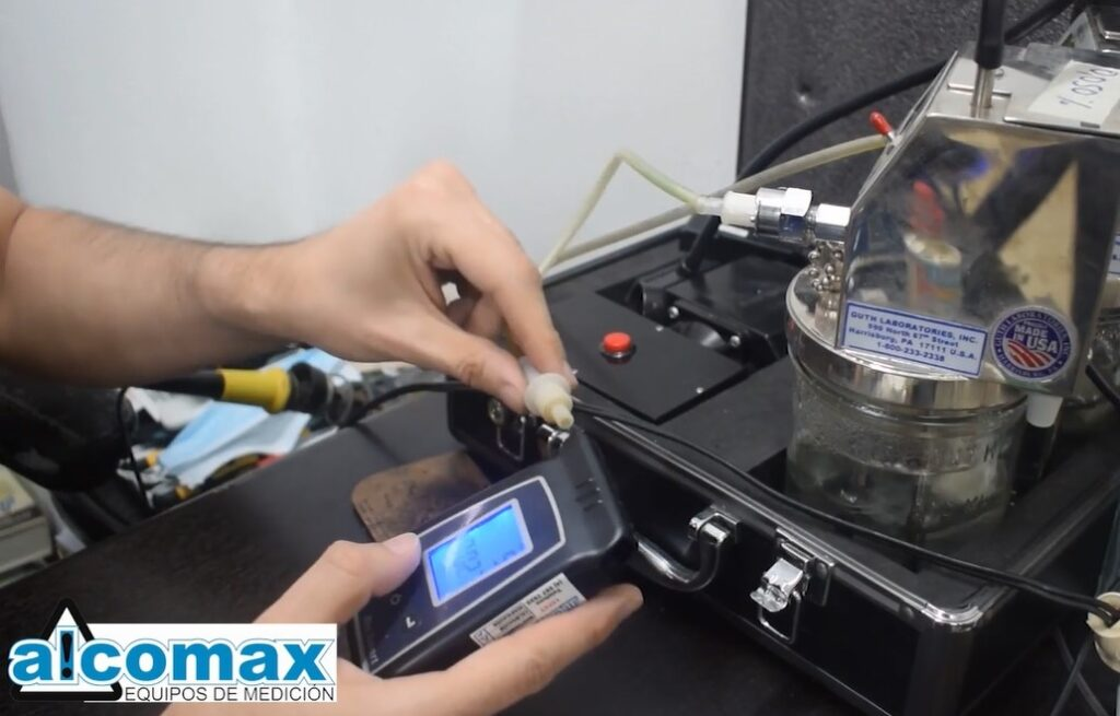 calibracion alcolimetros ecuador